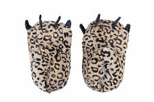Cosplay Costume Slippers Animal Monster Paw Claw Leopard Print Slippers Shoes