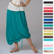 OH MY GAUZE Cotton Artsy PULLY Panel Skirt 1 (M/L/XL) 2 (1X/2X)  2015 DISC STYLE