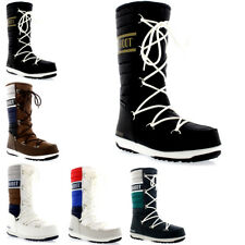 Womens Tecnica Original Moon Boot Quilted Winter Snow Mid Calf Boots US 5.5-10