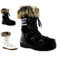 Womens Tecnica Original Moon Boot Monaco Low Snow Rain Waterproof Boot US 5.5-10
