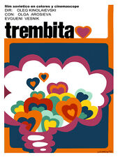 969 Trembita Film. Wall Art Decoration POSTER.Graphics to decorate home office.