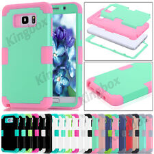 Hybrid Heavy Duty Soft Silicone Shockproof Cases Cover For Samsung Galaxy Series
