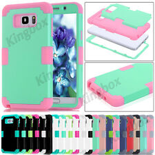 Samsung Galaxy Note & S Hybrid Heavy Duty Soft Silicone Shockproof Cases Cover