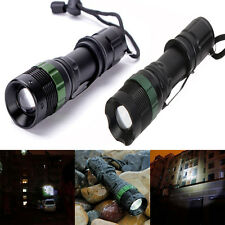 CREE XML T6 LED 3500LM 3 Modes Flashlight Zoomable Light Torch Hiking Camping