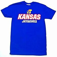 Kansas Jayhawks NCAA Blue Classic End Zone Men's T-Shirt