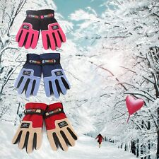 Wholesale Lots Unisex Warm Winter Gloves Fleece Snowboard Snow Ski Mitten New