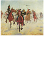 1372 Indian battle wall Art Decoration POSTER.Graphics to decorate home office.