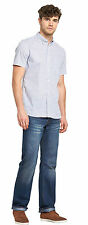 French Connection Mens Horizontal Stripe Sleeve Shirt