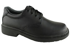 Mens/Youth School Shoes Clarks Daytona Black E Fitting Size 4-12 Leather