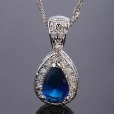 Fashin Jewelry Lady Jewelry White Gold Filled Pendant Necklace For Dress
