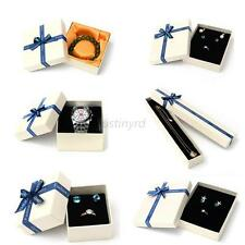 Nice Gift Boxes Case For Bangle Jewelry Watch Box Necklace Ring Earring Lot Size