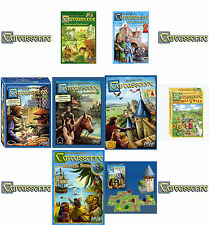 Carcassonne Games, Inns & Cathedrals, Traders & Builders, South Seas Expansions