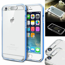 Rugged Shockproof Hybrid Rubber LED Hard Cover Case for Apple iPhone 6 6S Plus