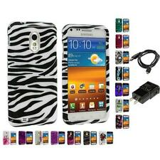 Design Hard Case Charger for Samsung Epic Touch 4G Sprint Galaxy S II S2