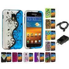 Design Hard Case for Samsung Sprint Galaxy S2 II Epic Touch 4G Charger