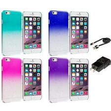 For iPhone 6 (4.7) Crystal Raindrop Waterdrop Hard Case Clear Color Accessories