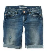 Aeropostale Womens Bermuda Casual Denim Shorts