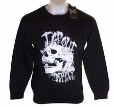 Bnwt Authentic Men's Tapout Skull Sweatshirt Jumper Fleece Lined MMA UFC New