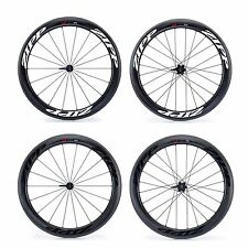 Zipp 404 Firecrest Carbon Clincher Road Bike / Cycling Wheels