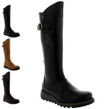 Womens Fly London Mol 2 Warm Knee High Winter Snow Warm Wedge Heel Boots UK 3-8