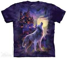WOLF CASTLE ADULT T-SHIRT THE MOUNTAIN