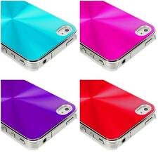 Color Chrome Aluminum Hard Luxury Case Cover Accessory for iPhone 4 4G 4S