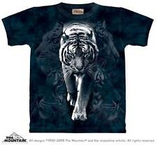 WHITE TIGER STALK ADULT T-SHIRT THE MOUNTAIN