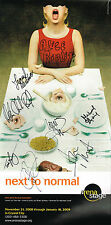Alice Ripley and Cast SIGNED Next to Normal Pre-Boradway Poster Grief COA