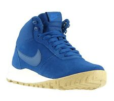 NEW NIKE Hoodland Suede women's sneakers High Top Blue Shoes Casual Shoes