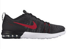 NEW MENS NIKE AIR MAX TYPHA TRAINING SHOES TRAINERS BLACK / WHITE / COOL GREY