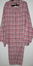 Joe Boxer Womens Size XS Pink Winter Flannel Pajamas Women's Sleepwear Sets Pjs