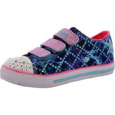 Girls Youth SKECHERS TWINKLE TOES CHIT CHAT 10562 LIGHTS Sneakers Shoes New