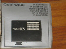 Rollei 121 BC flash for cameras 35,35S, 35SE,etc  COMPLETE