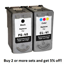 Remanufactured Black & Colour Text Quality Inks for Canon Pixma MP150 MP160