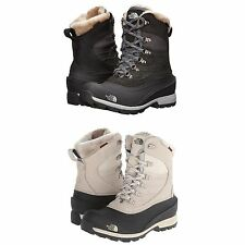 The North Face Womens Chilkat 400 Mid Fashion Waterproof Winter Snow Boots