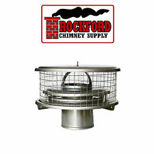 WeatherShield Stainless Steel Chimney Cap TDW for Air Cooled Chimney Pipe