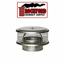 WeatherShield Stainless Steel Chimney Cap WSA for Solid Pack Chimney Pipe