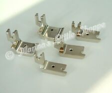 """LOW SHANK SINGLE CORD WELTING / PIPING FOOT 1/4"""" 1/8"""" 3/16"""" 3/8""""1/2"""" ALL BRANDS"""
