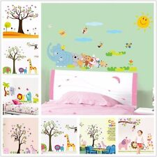 New Cartoon Mural Removable Vinyl Wall Sticker Decal Kid Nursery Room Home Decor