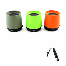 New Bluetooth Wireless Mini Cup Speaker For Mp3 Mobile Phone PC + Stylus BK