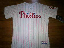 HUNTER PENCE PHILADELPHIA PHILLIES NEW MLB MAJESTIC AUTHENTIC COOL BASE JERSEY