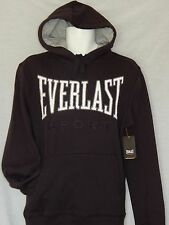 Everlast Hoodie Mens Sizes Boxing Black MMA Workout Gym Training Fight