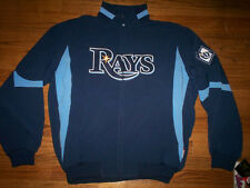 TAMPA BAY RAYS NEW MLB AUTHENTIC MAJESTIC THERMA BASE PREMIER JACKET