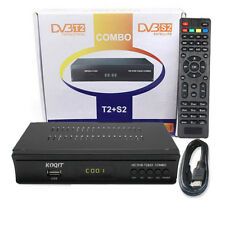 Digital DVB-T2 + DVB-S2 Combo Terrestrial Broadcasting Satellite Receiver TV Box