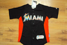 GIANCARLO STANTON MIAMI MARLINS NEW MLB MAJESTIC AUTHENTIC COOL BASE KIDS JERSEY