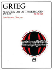 Wedding Day at Troldhaugen Op.65 No.6; Grieg, Edvard, Piano Solo, ALFRED - 884
