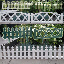 LANDSCAPE BORDER GARDEN FENCE EDGING LAWN GRASS EDGE PATH PICKET PANEL FENCING
