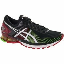 ASICS GEL KINSEI 6 BLACK SILVER RED MENS RUNNING SHOES **FREE POST WORLDWIDE