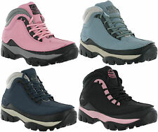 Groundwork Leather Safety Steel Toe Work Walking Hiking Womens Boots Shoes UK3-8