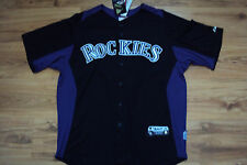 COLORADO ROCKIES NEW MLB AUTHENTIC MAJESTIC COOL BASE JERSEY